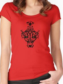 Darth Maul Women's Fitted Scoop T-Shirt