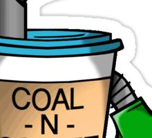 COAL-N-COFFEE Decal Sticker