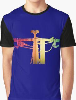 Mountain Bike Rainbow Bars - MTB Collection #004 Graphic T-Shirt