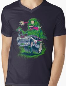 SNOT FINK Mens V-Neck T-Shirt