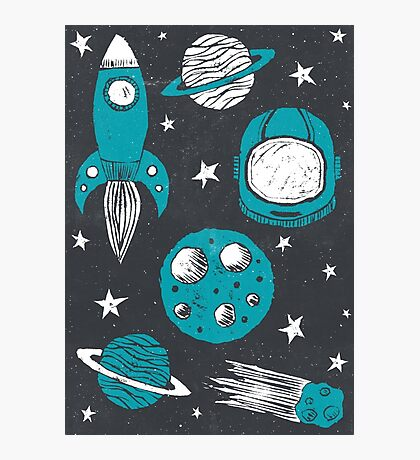 Space Age  Photographic Print