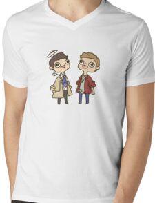 Destiel Mens V-Neck T-Shirt