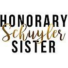Honorary Schuyler Sister (Gold Foil) by RileyElizabeth9