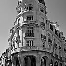 B&W - Building in Vannes France 2015 by Buckwhite