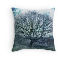 Dreaming of Blue Skies Throw Pillow