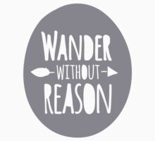 Wander without Reason Kids Tee