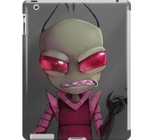 Painted Invader Zim iPad Case/Skin