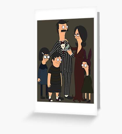 Addams' Family Burgers Greeting Card