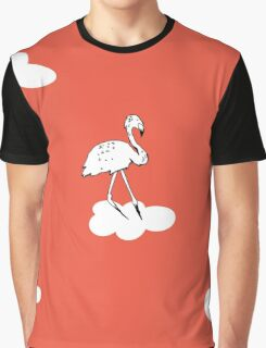 Flying Flamingo by McKenna Sanderson Graphic T-Shirt