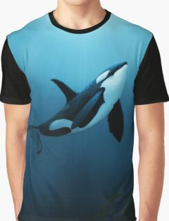 """""""The Dreamer"""" ~ Orca • Killer Whale Graphic T-Shirt"""