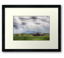 Wyoming Prairie Framed Print