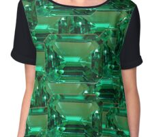 Emerald Chiffon Top