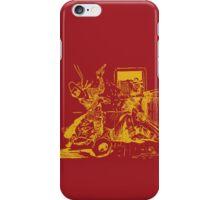 Satan Loses A Badman - Gold iPhone Case/Skin