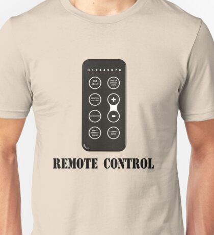 Remote Control Unisex T-Shirt