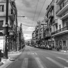 Back Streets of Athens by Vicki Spindler (VHS Photography)