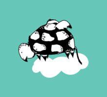 Flying Turtle by McKenna Sanderson Sticker
