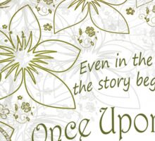 The Lunar Chronicles, Once Upon a Time Sticker