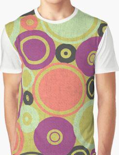 Retro Circles Graphic T-Shirt