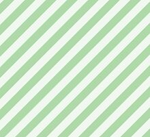 Stripes (Parallel Lines, Striped Pattern) - Green by sitnica