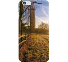 A morning walk in Kent iPhone Case/Skin