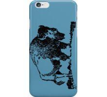 Buffalo - Black iPhone Case/Skin