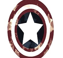 Cap's Shield-version 2 by LadyThor