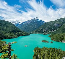 Diablo Lake by Jim Stiles