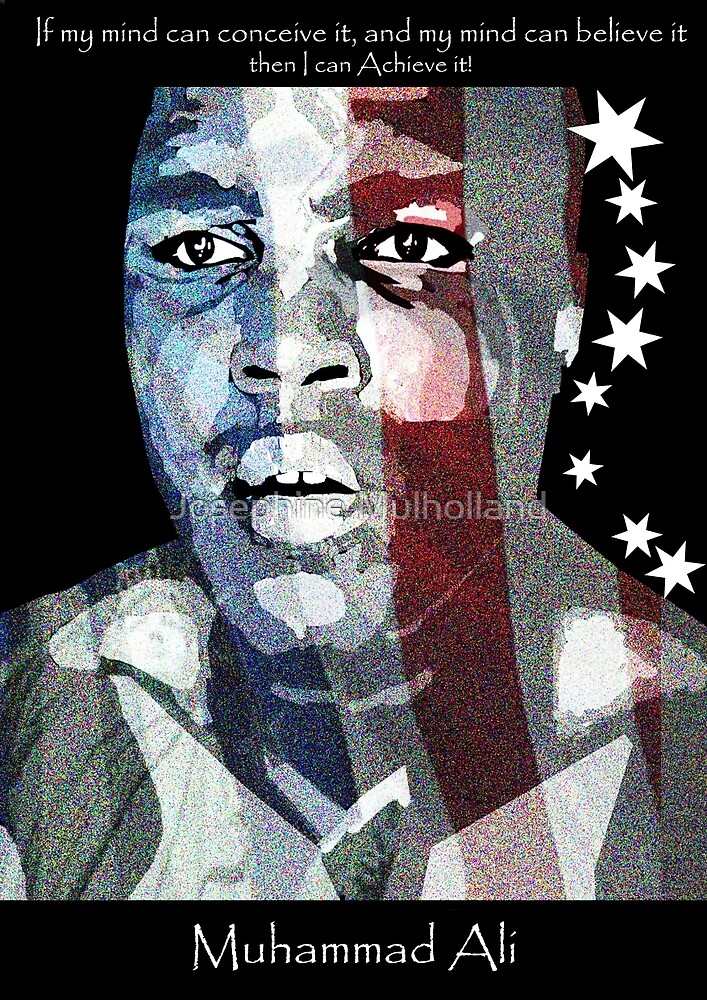 Mohammad ali by josephine mulholland redbubble for Home decor newtownards