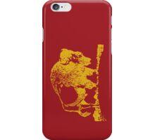 Buffalo - Gold iPhone Case/Skin