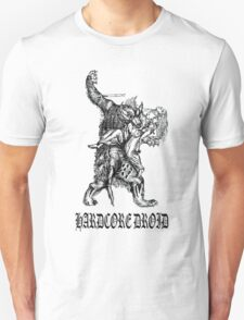 Hardcore Droid Werewolf for Light colored shirts T-Shirt