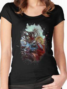 Fullmetal Alchemist Women's Fitted Scoop T-Shirt