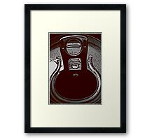 just time for a drink Framed Print