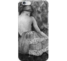 Monochrome beauty iPhone Case/Skin