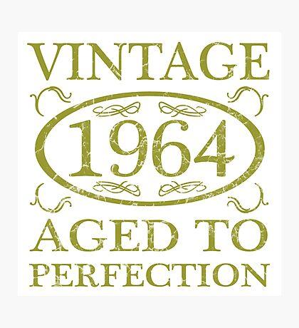 Vintage 1964 Birth Year Photographic Print