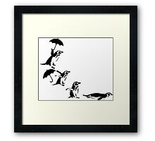 Pingu 6 Framed Print