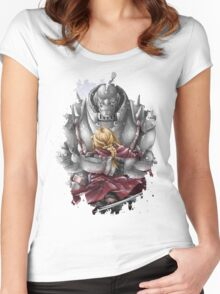 Fullmetal Alchemist brothers elric Women's Fitted Scoop T-Shirt
