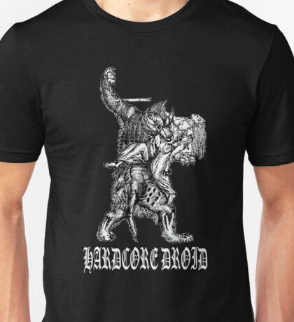 Hardcore Werewolf 2 for dark colored shirts Unisex T-Shirt