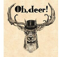 Oh, deer me! Photographic Print