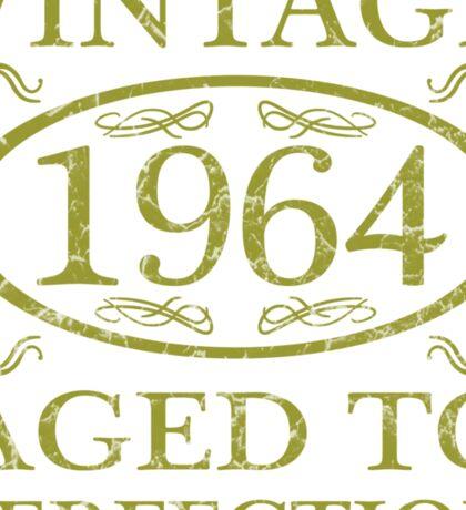 Vintage 1964 Birth Year Sticker