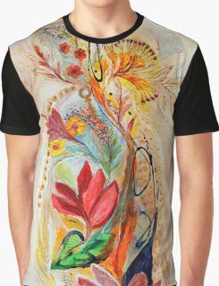 The Splash Of Life 20. Flowers Of Holy Land Graphic T-Shirt