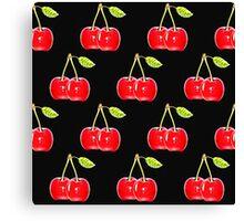 Sweet Red Cherries Canvas Print