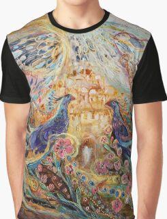 The Angel Wings #4. Spirit of Jerusalem Graphic T-Shirt
