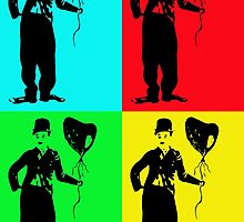 Charlie Chaplin poster by Josephine Mulholland