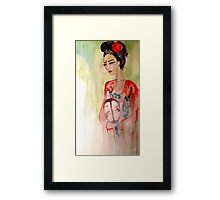 Asian Grace  Framed Print