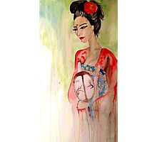 Asian Grace  Photographic Print
