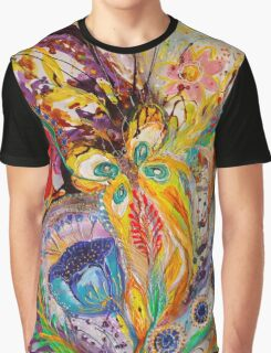 The flowers and butterflies Graphic T-Shirt
