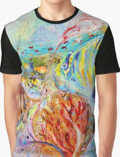 The Splash Of Life 14. Red Sea Graphic T-Shirt