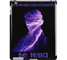 Nikola Tesla one iPad Case/Skin