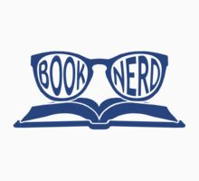 Book Nerd 2 (Blue) One Piece - Short Sleeve