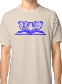 Book Nerd 2 (Blue) Classic T-Shirt